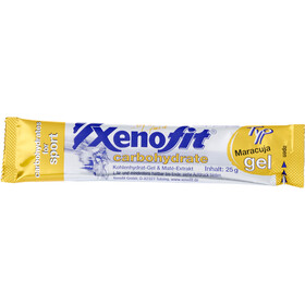 Xenofit Carbohydrate Gel Box 30x25g Mixed